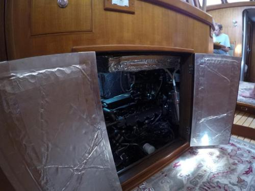 Engine Rm Access from galley